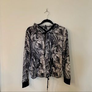 VICTORIA SECRET SPORT mesh hoodie